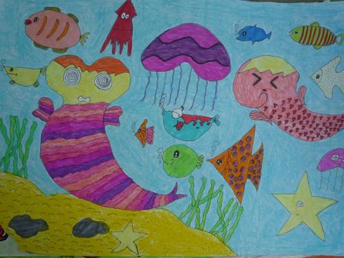 《海底世界》 罗婕雨